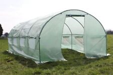Palm Springs 3m X 6m Polytunnel Greenhouse-25mm Super Strong Anti-rust Frame