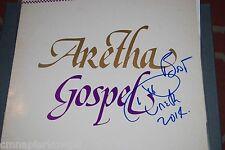 Aretha Franklin signed Album WOW - Gospel In Person -