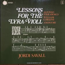 ASTREE AS 51 Lessons For The Lyra Violl  / Jordi Savall