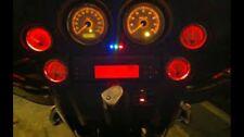 1996-2013 harley davidson streetglide 4 replacement LED bulbs for smaller gauges