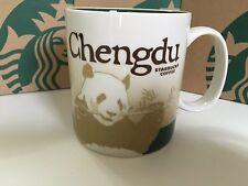 China  Starbucks chinese City Mugs Collector Series of chengdu 16oz