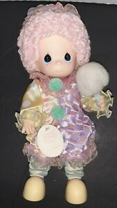 """Precious Moments Doll Collection Cotton Candy the Clown 13"""" Tall #1304 of 5000"""