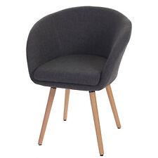 Serie Malmoe sedia sala da pranzo T633 legno massiccio tessuto grigio P