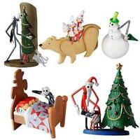 Set of 4 Jun Planning Nightmare Before Christmas Jack Trading Figure Series 1