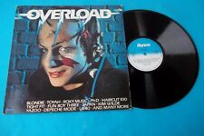 OVERLOAD VARIOUS DEPECHE MODE-ROXY MUSIC LP NUOVO