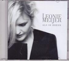 Leonie Meijer-Als Ik Breek Promo cd single