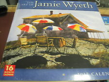 THE ARTOFJAMIE WYETH 2017 16 MONTH WALL CALENDAR NEW SHRINK WRAPPED