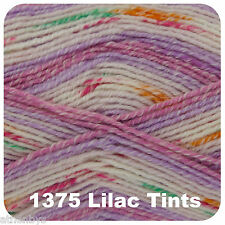 King Cole Baby Drifter DK 100gm Balls Buy 2 Get 1 Half 1375 Lilac Tints