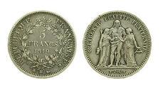 pcc1576_20)  FRANCIA II Repubblica (1848-1852) 5 franchi 1849 Strasburgo