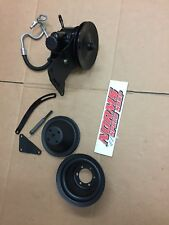 Mopar 273 340 360 Power Steering Pump Brackets Pulleys Dart Cuda B A E Body GTX