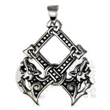 Dryad Designs  Silver Othala Pendant by Paul Borda Norse Asatru