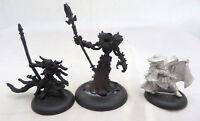 Warmachine Cryx warcasters 2 and mercenary solo