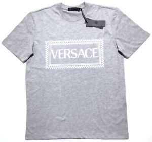 Versace Mens Light Grey T-shirt SIZE L