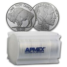 1 oz Silver Round Buffalo (Lot, Roll, Tube of 20) - SKU #74759