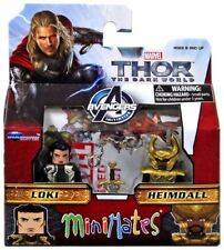 Thor The Dark World Minimates Series 53 Loki & Heimdall Minifigure 2-Pack