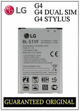 GENUINE BATTERY LG G4 H815 H818 H819 DUAL SIM DUAL SIM LTE BL-51YF 3000mAh