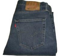 Hommes Levi's 522 Bleu Slim Fuseau Jean W32 L31