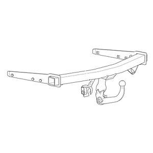 Westfalia Towbar for Volkswagen Phaeton 2002-2016 - Detachable Tow Bar