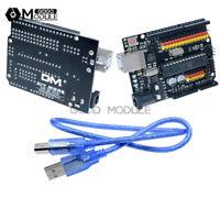 New UNO R3 PLUS Sensor I/O Shield Atmega328P 16U2 Expansion Board For Arduino