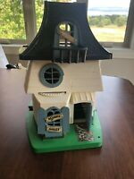 Vintage WEEBLES HAUNTED HOUSE Playset 1976 Hasbro Not Complete