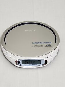 Sony Walkman D-FJ210 G-Protection Portable CD TV/Weather/Radio & CD-R/RW Player