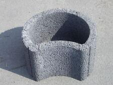 Pflanzsteine grau -  Pflanztröge Pflanzringe Böschungsringe Böschungssteine
