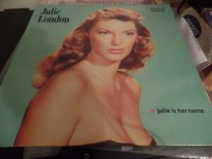 JULIE LONDON 'JULIE IS HER NAME' LP UK EDSEL 1980 REISSUE OF 1955 LP MONO