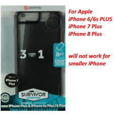 Griffin For Plus iPhone 6/6s/7/8 Protective Case Survivor Adventure 2 Back Plate