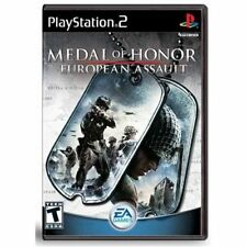 Medal Of Honor European Assault For PlayStation 2 PS2 Game Only 6E