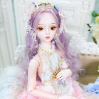 New 1/3 Handmade Resin BJD MSD Lifelike Dolls Joint Dolls Girl Gift Sophia 24""