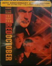 The Hunt For Red October STEELBOOK - (4K Blu Ray + Blu Ray + Digital) - Best Buy