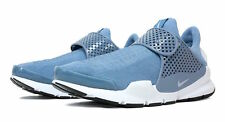 NIKE SOCK DART 819686 403  RUNNING SHOES Greyish blue and White size 13