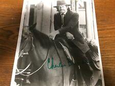 Autographed photo: Charles Bronson