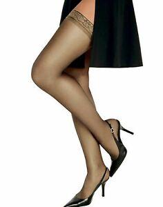 Hanes Womens Silk Reflections Silky Sheer Thigh High - Best-Seller!