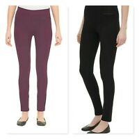 DKNY Ladies Pull-on Ponte Skinny Fit Pant Stretch Mid-Rise Variety Sizes