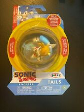 2019 NEW SEGA Sonic the Hedgehog Tails Booster Classic Figure, Tails
