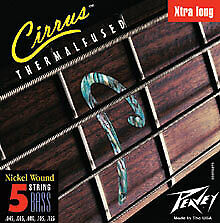 Peavey Premium Performance CIRRUS BASS STRING 5XL With No Dead Spots 379270 New