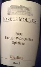 3 BOTTLES Riesling Urziger Wurzgarten - Spätlese 1994 MARKUS MOLITOR mosel