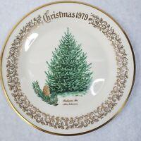 1979 Lenox Limited Christmas Commemorative Issue dinner plate - Balsam Fir