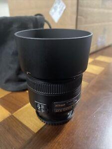 Nikon NIKKOR AF-S 85mm F/1.8 G Lens - Great shape!!