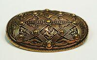 Wikinger Fibel Oseberg Bronze Wikingerschmuck Groß Schalenfibel Wikinger