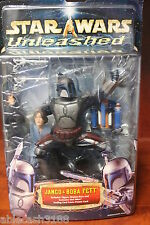 JANGO & BOBA FETT STAR WARS UNLEASHED FIGURES HASBRO NEW SEALED IN PACK