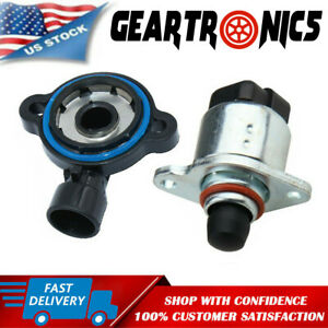 Throttle Position Sensor and Idle Air Control Valve Set For LS Chevy GM new