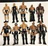 MATTEL WRESTLING ACTION FIGURE LOT OF 10 WWE WWF BASIC FIGURES L3 Kane Rock AJ