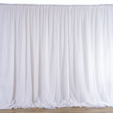 20FTx8FT Fabric BACKDROP Wedding Party Photobooth Curtain Decorations 3 Colors!