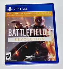 Replacement Case (NO GAME) Battlefield 1 Revolution PlayStation 4 PS4 Box