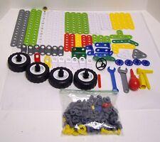 Erector Build and Play Construction Parts In Bucket 184 Pieces Meccano 2007 Toy