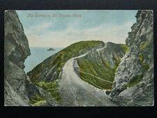 More details for channel island sark entrance to la coupée c1903 ub postcards by valentine
