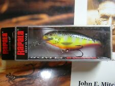 RAPALA  SHAD RAP SR7HS ( OLD STOCK .RARE.-NOT AVAILABLE )