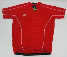 Optimum Cycling Manga Corta Jersey xx-grande hombre tamaño XXL rojo NUEVO #K120